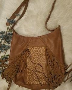 Steve Madden BOHO Fringe Shoulder bag Vintage Look